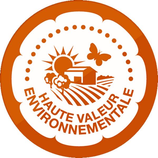 Nous avons obtenu la certification HAUTE VALEUR ENVIRONNEMENTALE